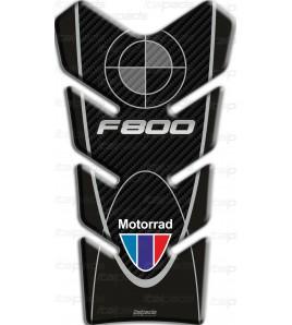 """Paraserbatoio per BMW F800 ST  """"Basic"""" nero-carbonlook"""