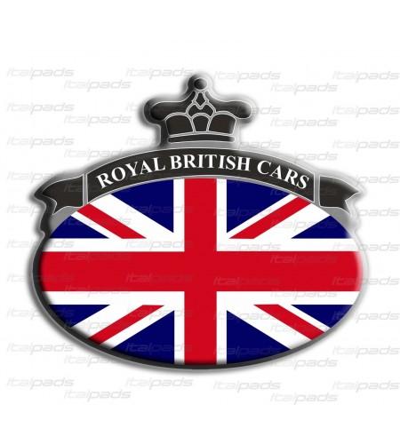 Scudetto Union Jack bandiera inglese Range Rover B/G