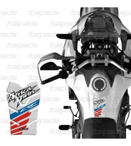 "Paraserbatoio ""Compact Honeycomb SM"" per Honda Africa Twin CRF 1000 bianco"