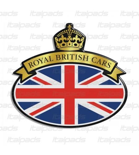 Scudetto Union Jack bandiera inglese Range Rover G/W