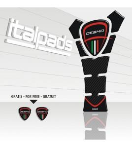 Paraserbatoio per Ducati mod. TexasEco nero/carbonio