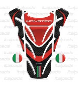 """Paraserbatoio DUCATI per Monster carbonio """"Top wings""""  + 2 stickers Gratis!!"""