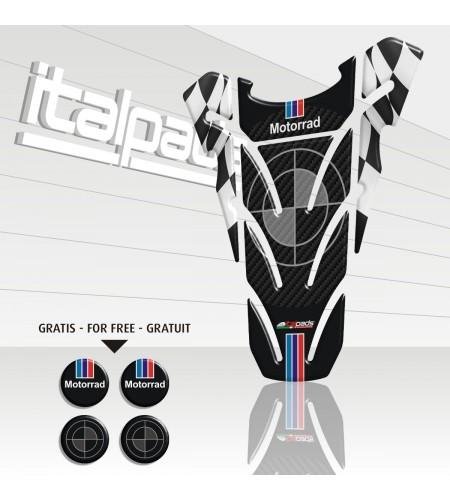 "Paraserbatoio resinato per BMW  mod. ""Top wings"" +4 Gratis!!"
