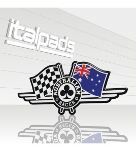 Sticker Australian Racer car bike racing