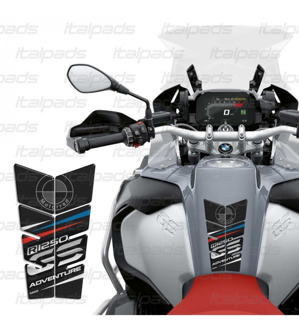 Paraserbatoio toni rossi compatibile con Ducati Scrambler