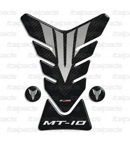 Paraserbatoio resinato per Yamaha MT-10 nero carbon look + 2 Gratis!
