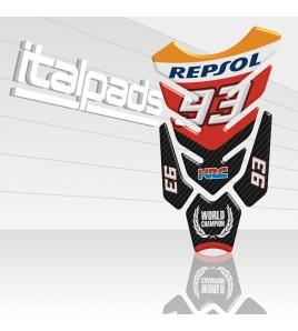 "Paraserbatoio ""Hyper Wings"" Marc Márquez 93 per Honda"