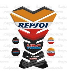 """Paraserbatoio per Honda CBR """"York Repsol"""" +4 Gratis"""