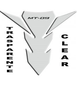 Paraserbatoio resinato per Yamaha MT-09 trasparente dal 2014 al 2015