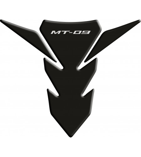 Paraserbatoio resinato Yamaha MT-09 nero Tank Pad black mod. 2014-2015