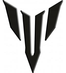 Paraserbatoio resinato Yamaha logo MT-09 nero Tank Pad black