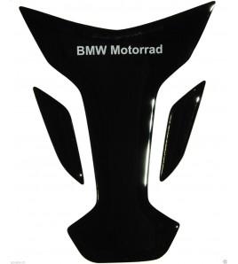 Paraserbatoio resinato BMW nero