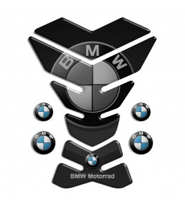 "Paraserbatoio in resina per BMW mod. ""York Top"" gray TANK PAD carbon-look + 4"
