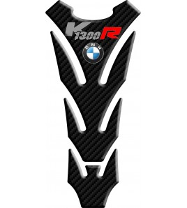 Paraserbatoio resinato per BMW K1300R effetto carbonio, SLIM