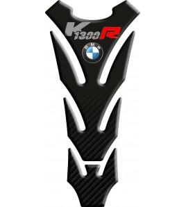 Paraserbatoio resinato per BMW K1300R nero/carbonio, SLIM