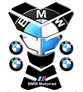 """Paraserbatoio resinato per BMW nero """"new york"""" +4 Gratis!!"""