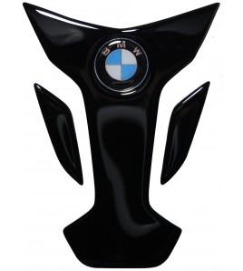 "Paraserbatoio BMW nero, mod.  ""Wings"" + inserto logo Cromo"