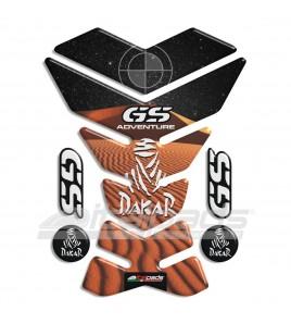 "Paraserbatoio per BMW GS mod. ""York Dakar"" + 4 GRATIS!!"