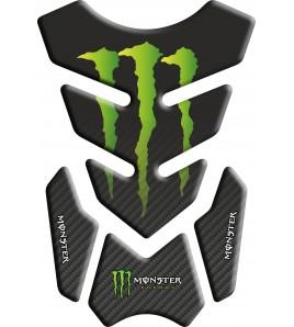 Paraserbatoio Monster 3.Wings Nero/Carbonio sfumato