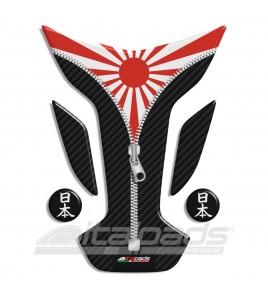 "Paraserbatoio bandiera GIAPPONE ""Wings ZIP"" + 2"