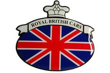 ROYAL BRITISH CARS flag union jack